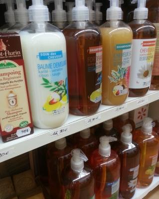 gel douche shampoing naturel Hygiène & toilette corporelle