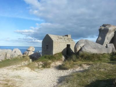 Les plages et roches de Santec