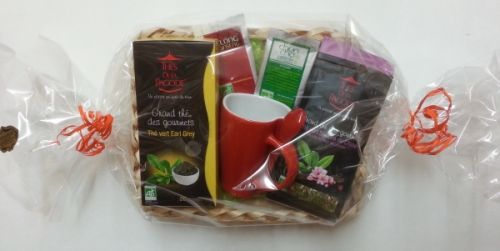 panier assortiment thes gourmets panier du bien etre Idées cadeaux naturels