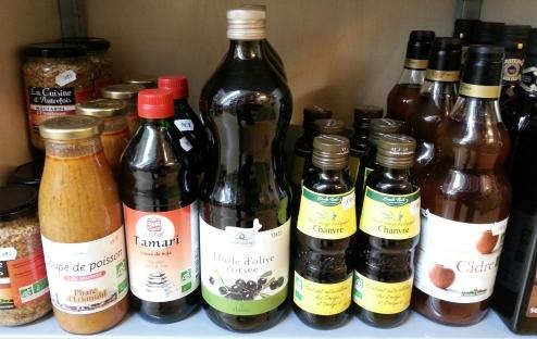 epicerie-huiles-assaisonnement-salades-cuisson-panier-du-bien-etre-saint-pol-de-leon-nord-finistere-bretagne