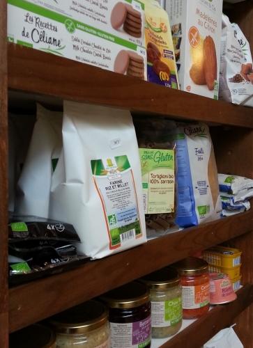 Petite épicerie et produits sans gluten à St Pol de Léon