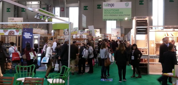 Natexpo salon bio international paris le panier du for Salon du bien etre paris
