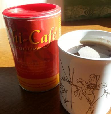 chi café avec ginseng, guarana