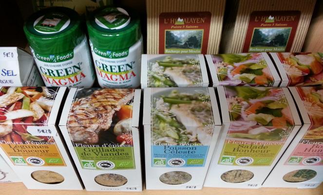 Sels bio & épices bio