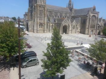 Place de Guébriant à St Pol de Léon (29)