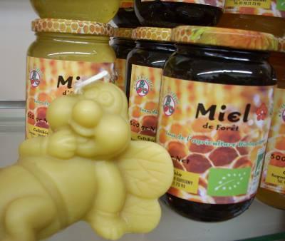 produits de la ruche Apithérapie