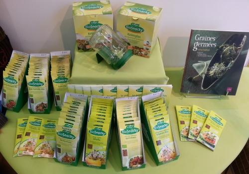 graines germees et accessoires Graines germées, graines de vie
