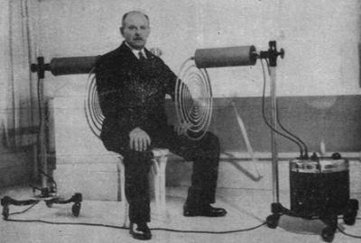 champs electromagnetiques pulses CEMP professeur georges lakhovsky Champs Electromagnétiques Pulsés