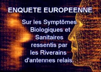 etude europenne impacts ondes electromagnetiques sur sante Problématique des ondes électromagnétiques