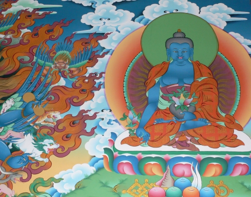 bouddha medecine Ayurvéda