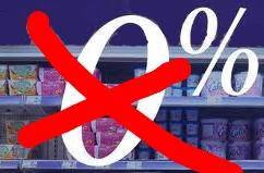 0%, produits