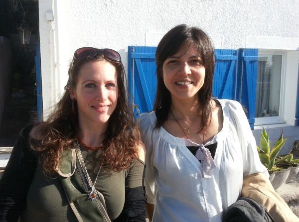 Maria Ruth Moreno, une star de la TV Equatorienne à St Pol de Léon