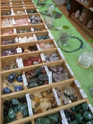 Lithothérapie, minéraux