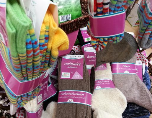 Chaussettes bio pour pieds sensibles