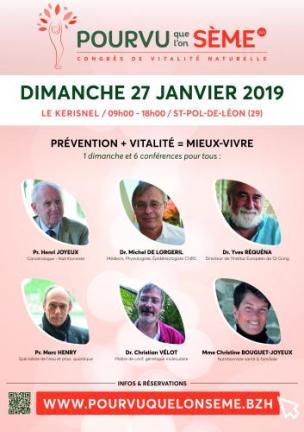 congrès de Vitalité Naturelle en Bretagne