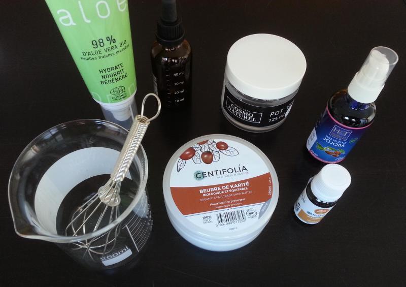 Cosmetiques bio maison