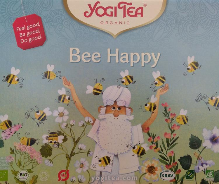 Bee Happy : nouvelle infusion Yogi-Tea !